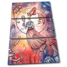 Zodiac Virgo  Starsign TREBLE TOILE murale ART Photo Print