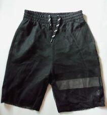 Para Hombre Negro Admiral pantalones cortos con alta VIS a rayas en la pierna