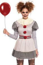 Leg Avenue womens creepy clown dress costume