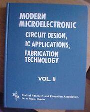 Modern Microelectronic Circuit Design IC Applications *