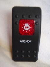 ANCHOR LIGHT ACTUATOR BLACK RED LENS FITS CARLING CONTURA V1D1 SWITCH EBAY