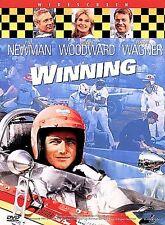 Winning (DVD, 1999, Widescreen) RARE PAUL NEWMAN 1969 RACING FILM BRAND NEW
