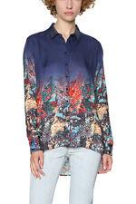 Desigual Blue Alunas Shirt Printed Bottom  XS-XXL UK 8-18 RRP �74