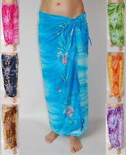 Sarong Qualità Premium in diversi colori, Pareo Panno fasciatoio lungi Pareo