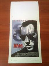 8 MM DELITTO A LUCI ROSSE locandina poster Cage Schumacher Azione 1998 K38