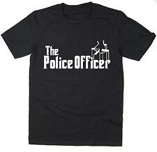 El oficial de policía-Gracioso T-Shirt-Padrino Parodia-Muchos Colores