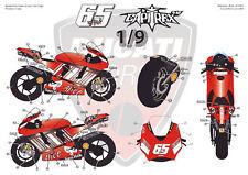 "[FFSMC Productions] Decalcomanie 1/9 Ducati GP7 2007 ""Jerez GP"""