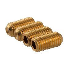 M4 x 5mm Grub Screw Cup Point Hex Socket Set Screws GB/T  Solid Brass