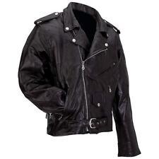 Big Men's Genuine Buffalo Leather Jacket/Coat (Size 2X,3X,4X,5X,6X,7X)