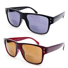 New Bifocal Sun Readers Classic Frame Geek Retro Style Reading Sunglasses