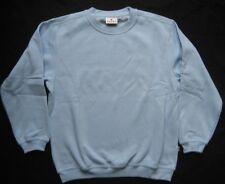 HAKRO HARRY KROLL AKTIVEWEAR Kinder-Sweatshirt  Hellblau Gr. 128 Gr. 152