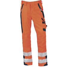 Herren Bund- Arbeitshose WARNSCHUTZ in orange von pka Klöcker bis Übergröße 66