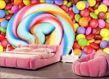 3D Candy Color 505 Wallpaper Murals Wall Print Wallpaper Mural AJ WALL AU Kyra