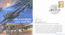 MF6 WWII WW2 Lancaster 617 Squadron RAF cover signed Tirpitz Raid veteran COLE