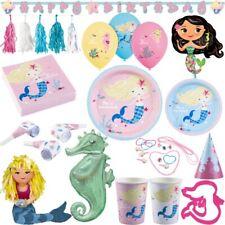 Meerjungfrau Kindergeburtstag Party Deko Set Geburtstag Dekoration Partyartikel