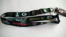 "NFL Super Bowl Champions DYNASTY 24""x1"" Break Away Lanyard Keychain NEW Key Ring"