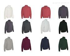 JERZEES Quarter Zip Cadet Collar Sweatshirt 50/50 Men's Fleece S-3XL 995MR-995M