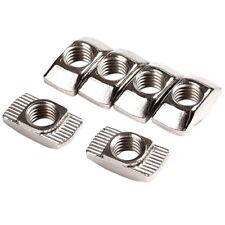 50Pcs M3/M4/M5*10*6 For 20 Series Slot T-nut Sliding T Nut Hammer Drop In Nut