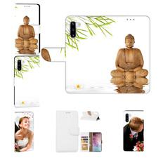 Samsung Galaxy Note 10 Schutzhülle Handy Tasche mit Fotodruck Frieden buddha