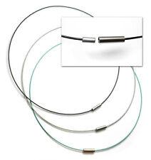 Edelstahlreifen mit Nylon ummantelt und mit Magnetschliesse