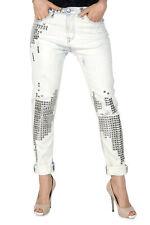Sexy Woman VI-J3986A Jeans donna - colore Bianco IT