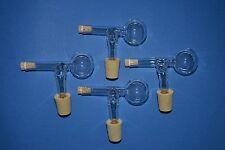 4-er Set Schnapsspender, Ausgießer Portionierer 2CL aus Glas