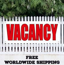 Vacancy Advertising Vinyl Banner Flag Sign New Work Jop Working Hiring Office