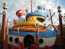 Disney World  Toon Town Blueprints - Donald Duck's Boat - 6 sheets - 36 x 48