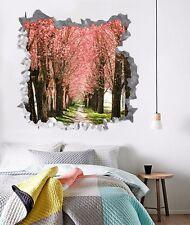 3D Cherry Flower Woods 8 Wall Murals Wall Stickers Decal breakthrough AJ WALL CA