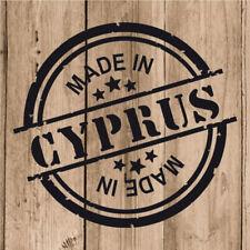 "Nicosia City Cyprus Grunge Travel Stamp Car Bumper Sticker Decal 5/"" x 4/"""