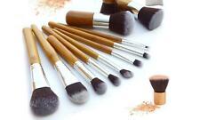 Ten-Piece Make-Up Bamboo Brush Sets