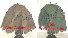 Filet de camouflage synthétique réversible pour Casque Français mle 1951 - TBE