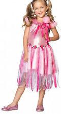 Twinkle Bug Fata Rosa Fiore Principessa Costume LEG AVENUE Età 4 5 6 LIBRO giorno