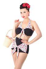 SugarShock Lia Kirschen Pin Up 50er retro Cherry Rockabilly Neckholder Bikini
