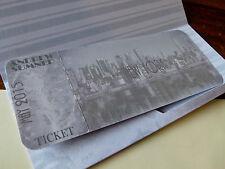 New York Themed Boarding Pass - Invitation Or Presentation Ticket