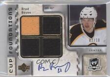 2006-07 Upper Deck The Cup #CQ-BB Brad Boyes Boston Bruins Auto Hockey Card