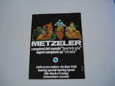 advertising Pubblicità 1978 PNEUMATICI METZELER