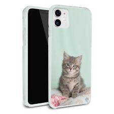 Manx Cat Kitten Bed Sitting Apple iPhone 8, 8 Plus, X, 11 Case