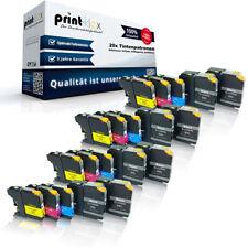 20 x Impresora Cartuchos de tinta para Brother lc22e XXL Color - Pro Serie