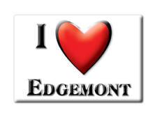 SOUVENIR USA - ARKANSAS FRIDGE MAGNET I LOVE EDGEMONT (CLEBURNE COUNTY)