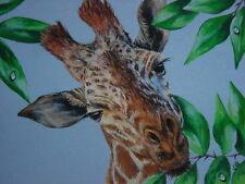 ACEO Giraffe Exotic African Safari animal print