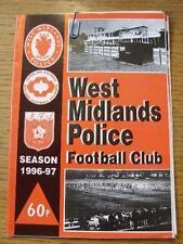 05/10/1996 West Midlands Police v Sandwell Borough [FA Vase] . Item In very good