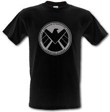 AGENTS Of  S.H.I.E.L.D SHIELD Superhero Heavy Cotton t-shirt SIZES SMALL- XXL