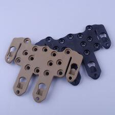 Airsoft Combat Belt Molle Holster Platform Adapter For Glock 17 19 22 23 31 32