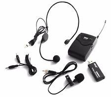 Wireless Laviler Microphone USB Headset Mic for Notebook Laptop Desktop Computer