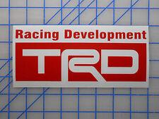 "TRD Racing Development Sticker Decal 5.5"" 7.5"" 11"" Tundra Tacoma FJ AE86 Celica"