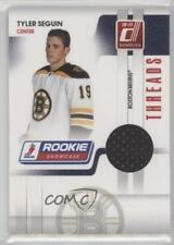 2010 Donruss Rookie Showcase Threads #TS Tyler Seguin Boston Bruins Hockey Card