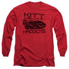 Knight Rider Kitt Happens Mens Long Sleeve Shirt