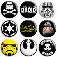 Star Wars - Various Designs - 25mm Film Button Badge with Fridge Magnet Option