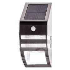 SENSOR SECURITY SOLAR POWERED LIGHT WALL GARDEN PORCHES SHED DOORWAYS 3m PIR
